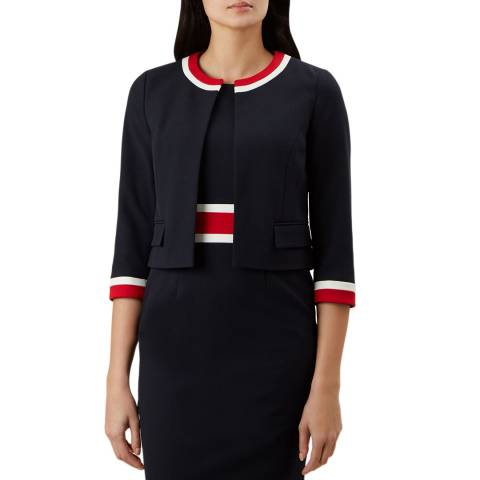Hobbs London Navy Annabel Jacket