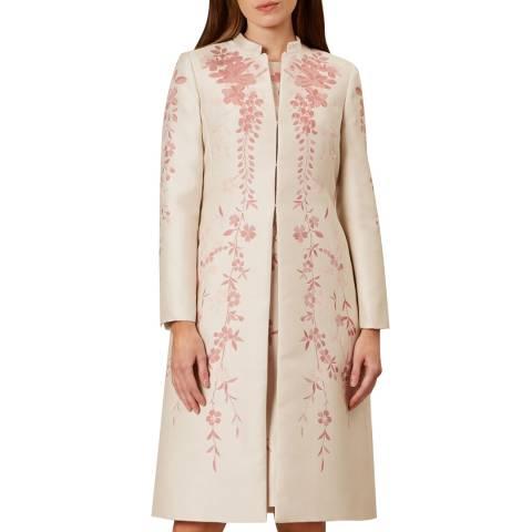 Hobbs London Cream Melody Coat
