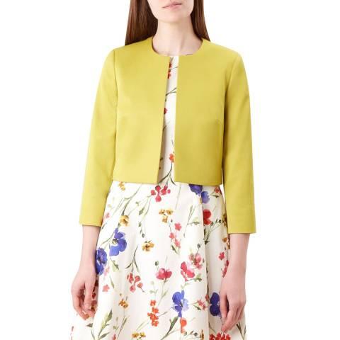 Hobbs London Yellow Elize Jacket