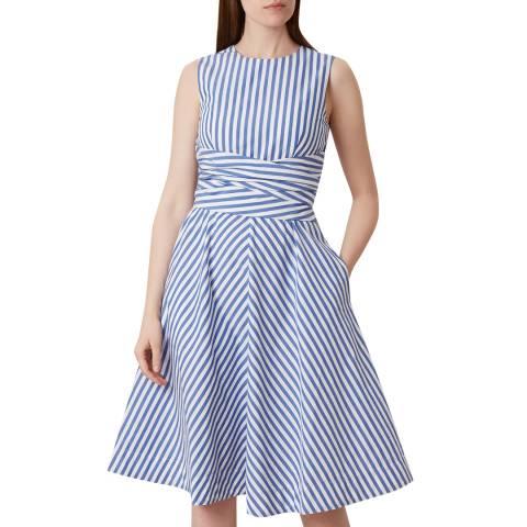 Hobbs London Blue Twitchill Dress