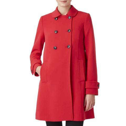 Hobbs London Red Adrienne Coat