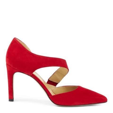 Hobbs London Scarlet Red Erika Court Heels