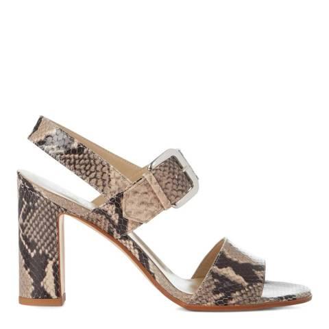Hobbs London Snake Rhiannon Heeled Sandals