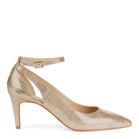 Hobbs London Metallic Gabrielle Court Heeled Shoes