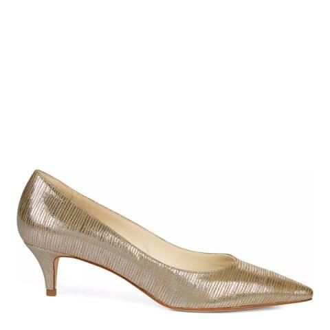 Hobbs London Metallic Annie Court Heeled Shoes