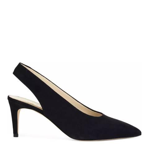 Hobbs London Navy Grace Slingback Heeled Shoes