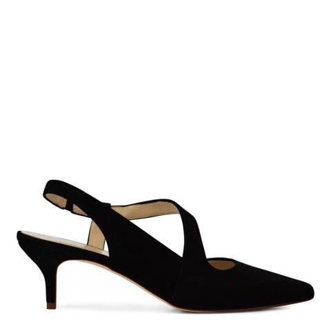 Hobbs London Navy Amy Slingback Heeled Shoes