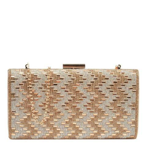 Mangotti Gold Crossbody Bag/Clutch