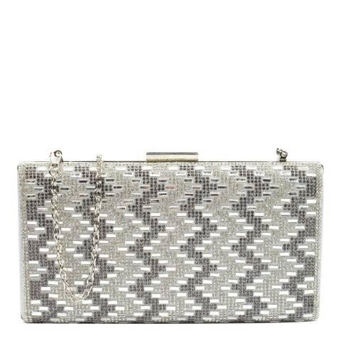 Mangotti Silver Crossbody Bag/Clutch