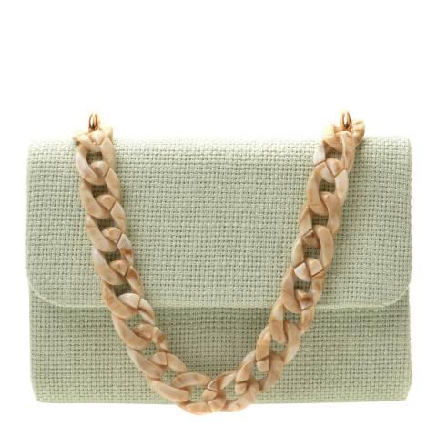 Mangotti Bags Green Top Handle Bag