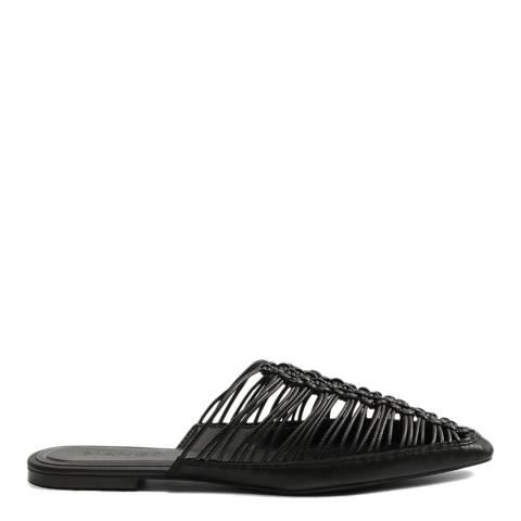 Mango Black Idina Flat Shoes