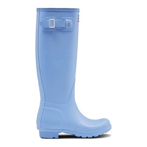 Hunter Vivid Blue Original Tall Wellington Boots