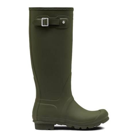 Hunter Dark Olive Original Tall Wellington Boots