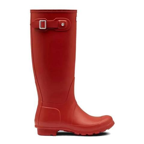 Hunter Military Red Original Tall Wellington Boots
