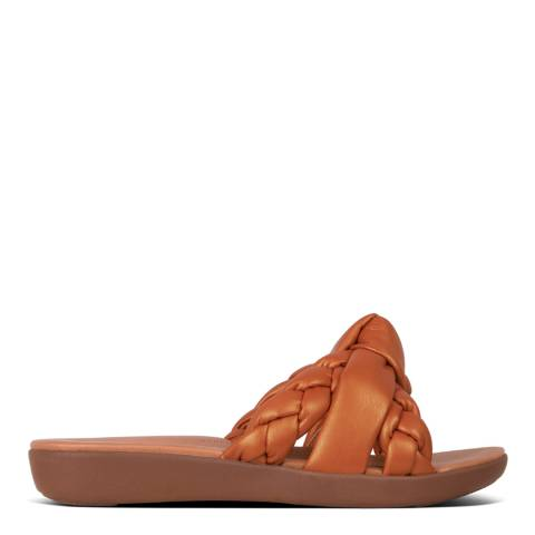 FitFlop Amber Ash Braid Toe Posts Sandals
