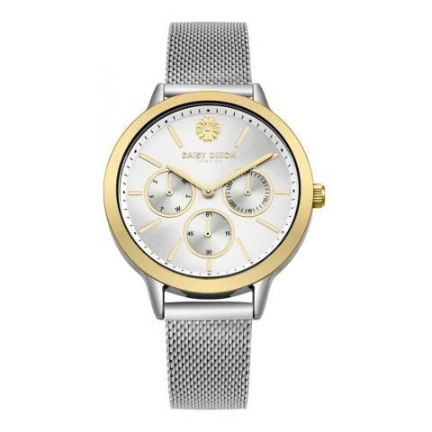 Daisy Dixon Silver Heidi Mesh Watch