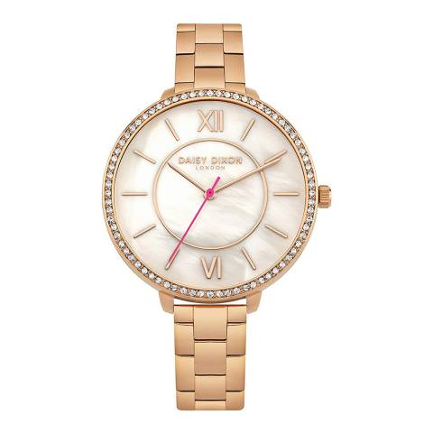 Daisy Dixon Gold Stainless Steel Watch