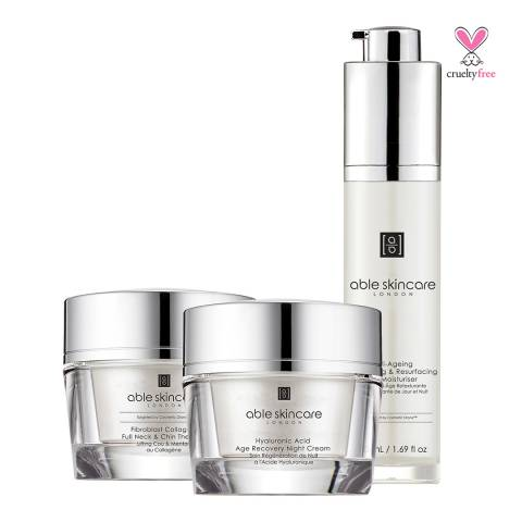 Able Skincare Set Best Sellers Supreme Anti-Aging Trio