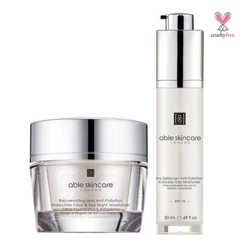 Able Skincare Set Ultimate Defence and Anti-Pollution