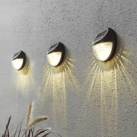 Solar Editions Solar Wall Lantern Fency
