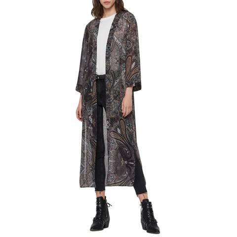 AllSaints Multi Carine Scarf Kimono