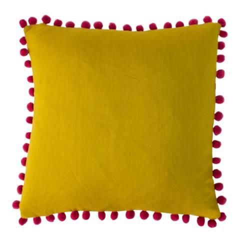 Paoletti Bamboo/Magenta Mardi Gras Filled Cushion 50x50cm