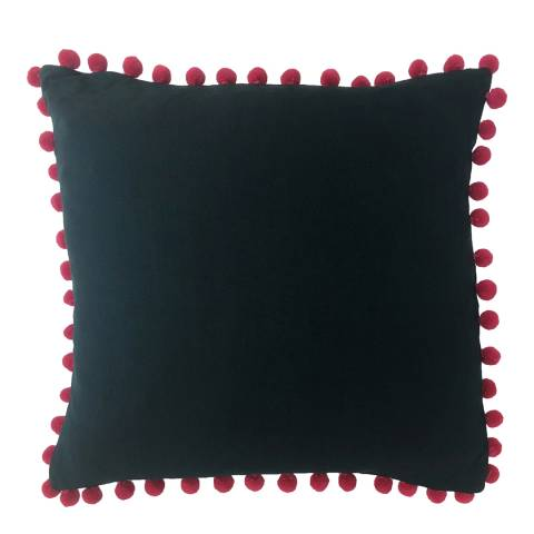 Paoletti Teal/Berry Mardi Gras Filled Cushion 50x50cm