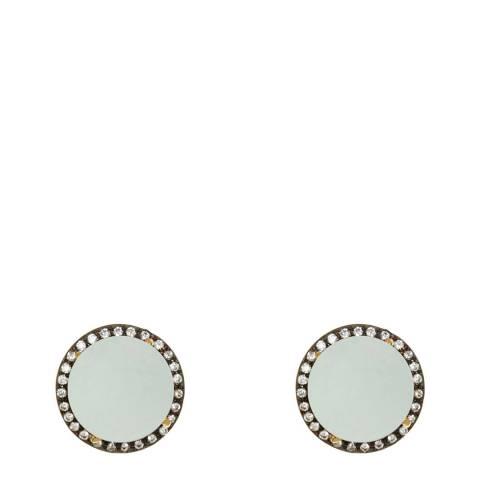 Liv Oliver 18K Gold Plated Stud Earrings