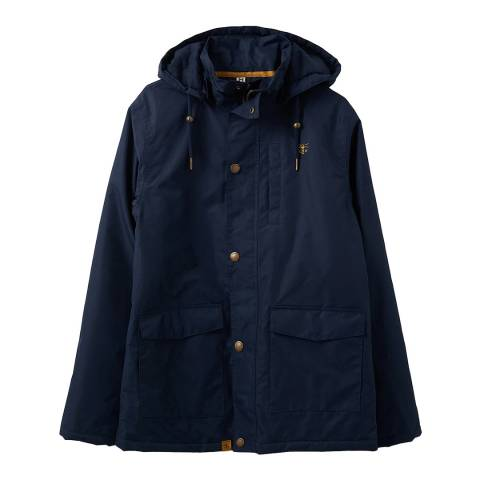 Lighthouse Clothing Men's Navy Logan Coat
