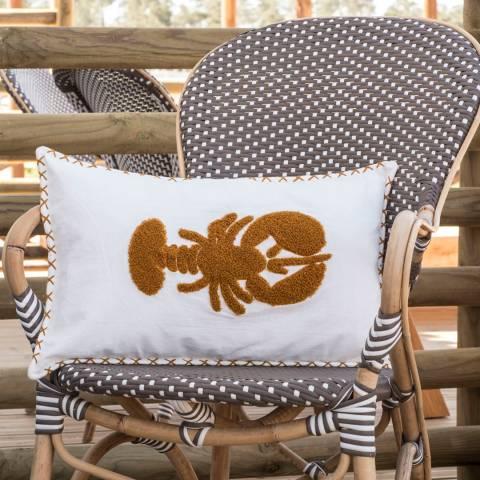 Febronie Mustard Lobster Cushion Cover 50x30 cm