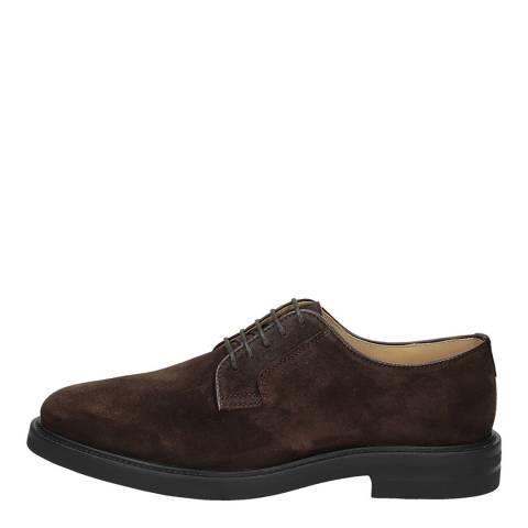 Gant Dark Brown Fargo Derby Shoes