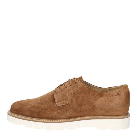 Gant Cognac Prepburg Low Lack Derby Shoes