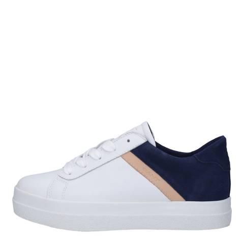 Gant Bright White & Indigo Blue Avona Sneakers