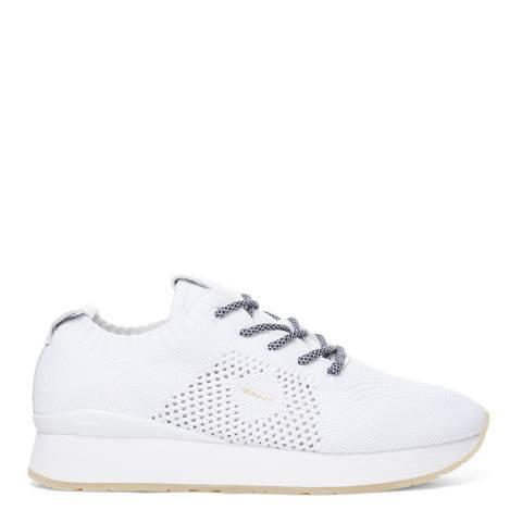 Gant White Bevinda Sneaker Sneakers