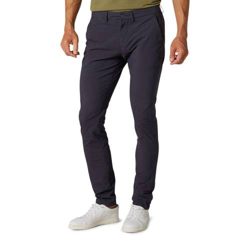 7 For All Mankind Navy Weightless Ronnie Stretch Chinos