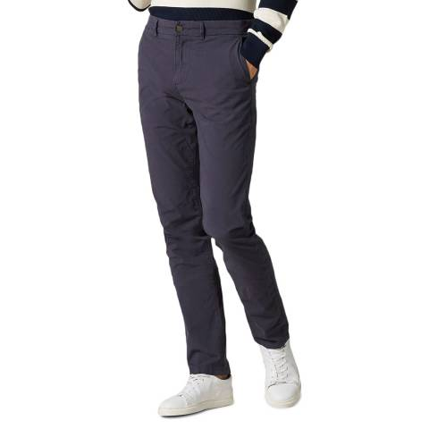 7 For All Mankind Navy Slimmy Weightless Stretch Chinos