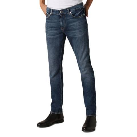 7 For All Mankind Indigo Ronnie Stretch Jeans