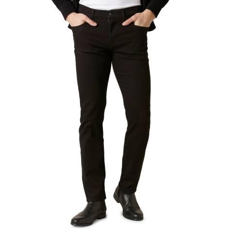 7 For All Mankind Black Kayden Slim Stretch Jeans
