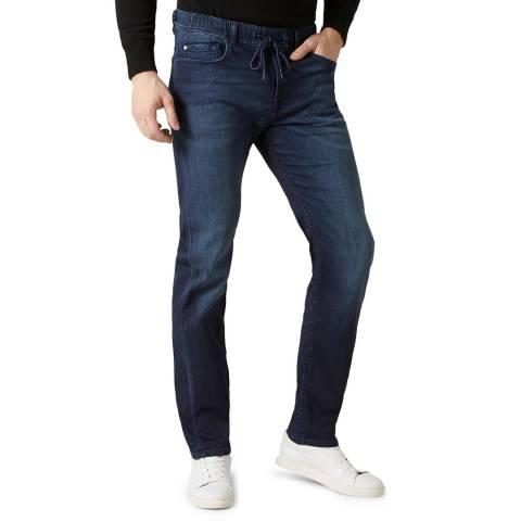 7 For All Mankind Indigo Kayden J Luxe Joggers