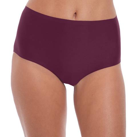 Fantasie Black Cherry Smoothease Invisible Stretch Full Brief