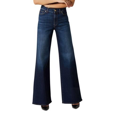7 For All Mankind Dark Denim Lotta Soho Stretch Jeans