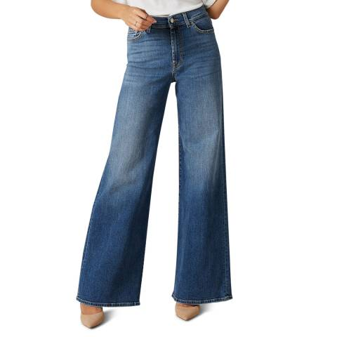 7 For All Mankind Indigo Lotta Soho Stretch Jeans