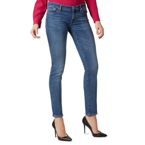 7 For All Mankind Indigo B(air) Pyper Stretch Jeans