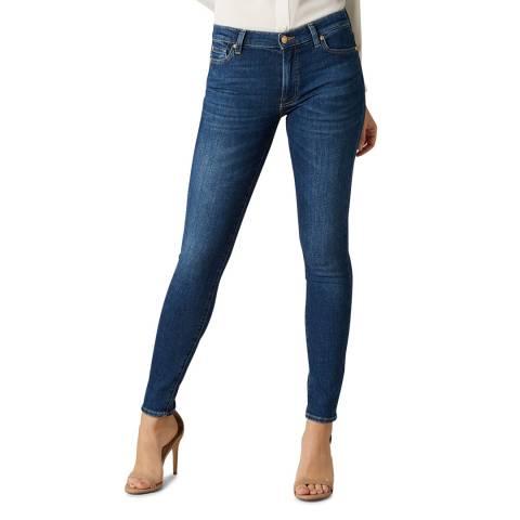 7 For All Mankind Indigo Slim Evolution Stretch Jeans