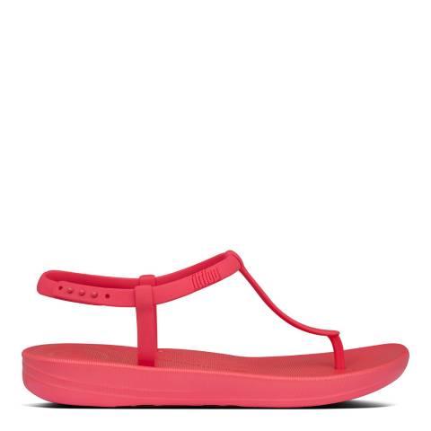 FitFlop Hot Pink Iqushion Splash Back Strap Sandals