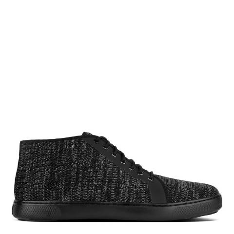 FitFlop Black Andor High Top Sneakers