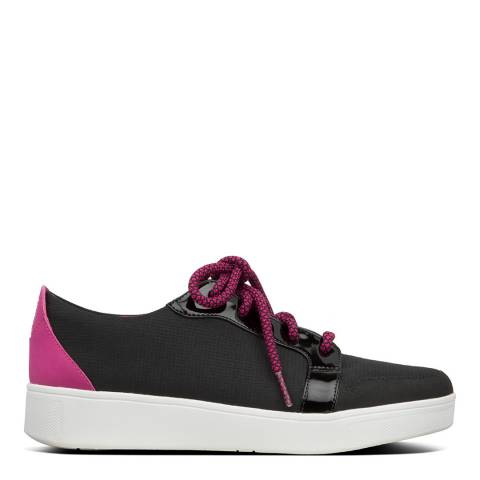 FitFlop Black Glace Sneakers