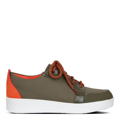 FitFlop Khaki Glace Sneakers