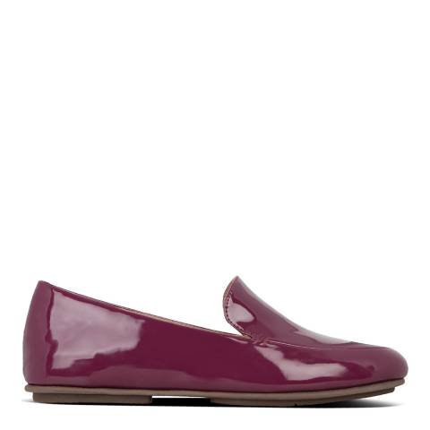 FitFlop Burgundy Lena Patent Loafers