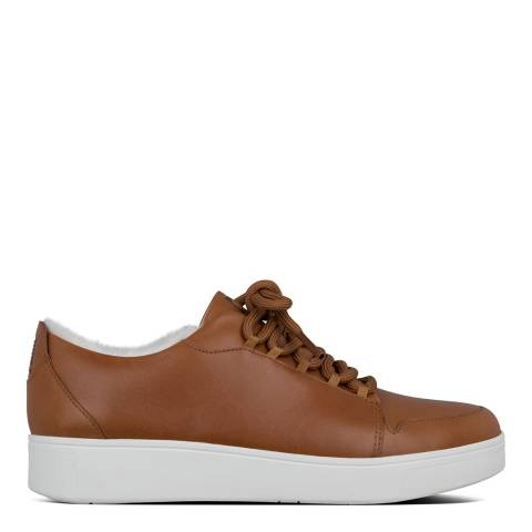 FitFlop Tan Camryn Furry Sneakers